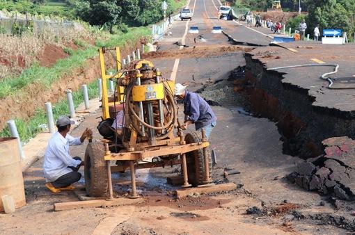 Công bố kết quả giám định nguyên nhân sự cố tuyến tránh thị trấn Chư Sê