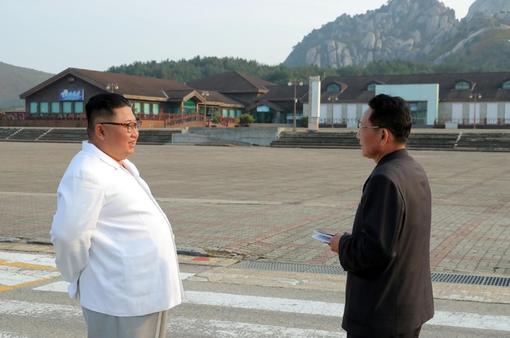 Chủ tịch Triều Tiên muốn dỡ khu du lịch do Hàn Quốc xây ở núi Kumgang