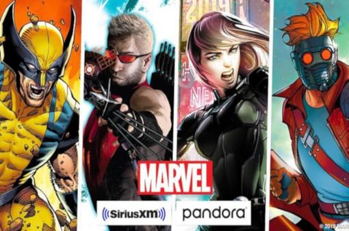 Marvel hợp tác phát triển nội dung trên SiriusXM và Pandora