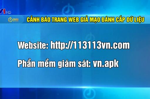 Cảnh báo trang web giả Bộ Công an