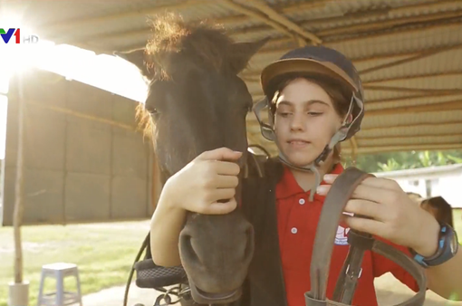 Cưỡi ngựa - Môn thể thao thú vị và hữu ích đối với trẻ nhỏ