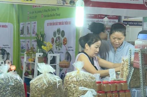 Đa dạng các sản phẩm nông sản, hàng tiêu dùng thiết yếu
