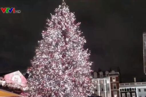 Truyền thống bật đèn Giáng sinh sớm tại Anh