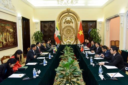 Tham khảo chính trị thường niên cấp Thứ trưởng Ngoại giao Việt Nam - Myanmar lần thứ 8