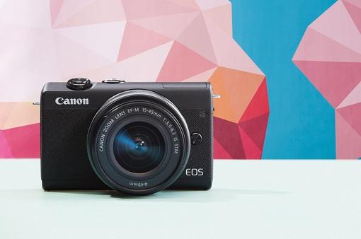 """Canon ra mắt máy ảnh """"quốc dân"""" EOS M200, giá từ 15,9 triệu đồng"""