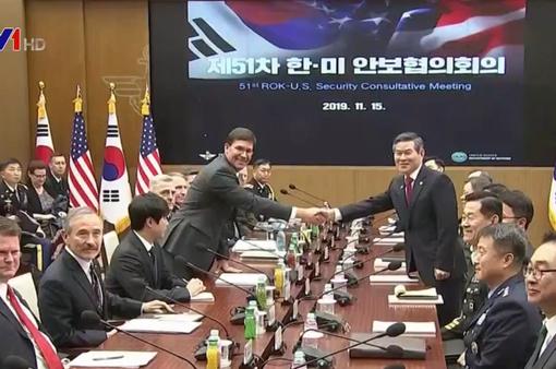 Mỹ - Hàn Quốc đàm phán quốc phòng thường niên