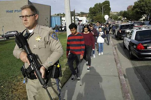 Xả súng trong trường học ở Mỹ