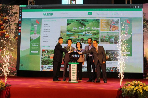 Tỉnh Hà Giang phát triển sản phẩm nông nghiệp