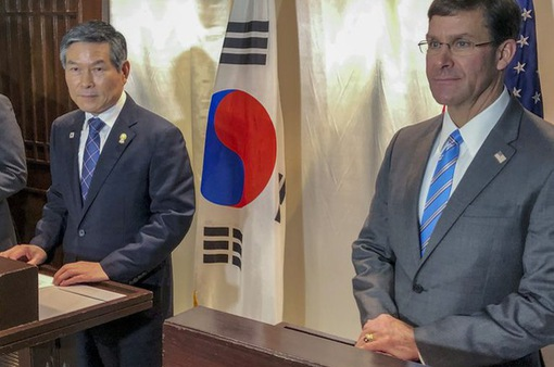 Mỹ, Hàn Quốc hoãn tập trận chung