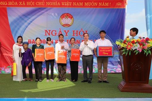Ngày hội Đại đoàn kết tại Vĩnh Lộc, Thanh Hóa