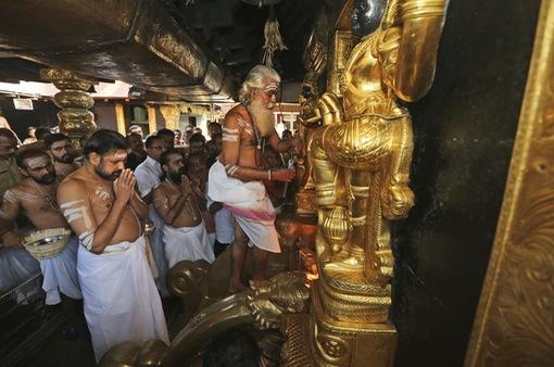 Cảnh sát Ấn Độ chuẩn bị cho mùa hành hương ở đền thiêng Sabarimala
