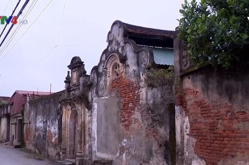 Ngôi làng lưu giữ nét Âu hồn Việt