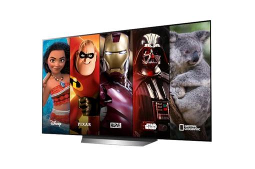 Disney + đã hỗ trợ dòng TV thông minh của LG