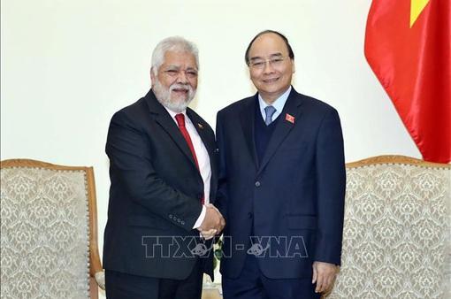 Thủ tướng Nguyễn Xuân Phúc tiếp Đại sứ Venezuela