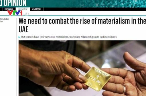 Lo ngại hệ lụy của lối sống chạy theo vật chất tại Trung Đông