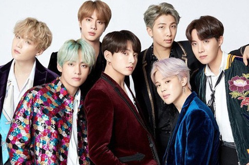 Nhóm nhạc BTS lọt danh sách nghệ sĩ có sức ảnh hưởng 2019