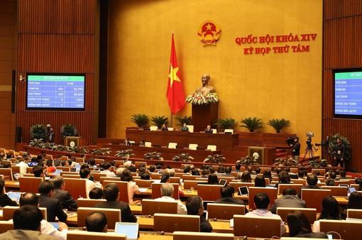 Hơn 90% đại biểu tán thành, Quốc hội thông qua Bộ luật Lao động (sửa đổi) năm 2019