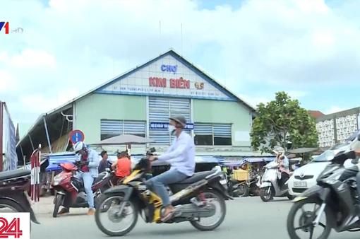 Tổng kiểm tra các hộ kinh doanh hóa chất tại chợ Kim Biên