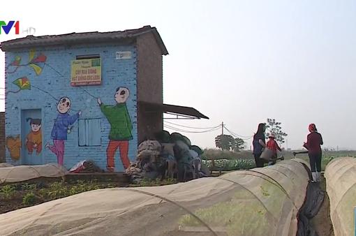 Ghé thăm làng bích họa Chử Xá, Hà Nội