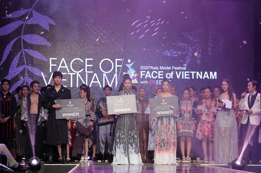 Đã tìm ra top 3 của Face of Vietnam tham gia Asia Model Festival 2020