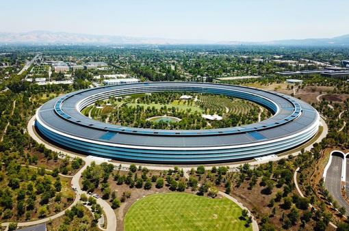 """Trụ sở phi thuyền Apple Park giá 5 tỷ USD của Apple """"xịn sò"""" như thế nào?"""