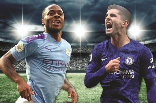 Lịch trực tiếp bóng đá Ngoại hạng Anh vòng 13: Man City đại chiến Chelsea
