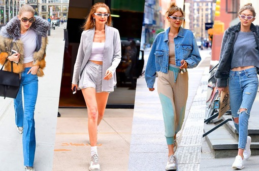 Bị chê ăn mặc quá đơn giản, Gigi Hadid phản pháo