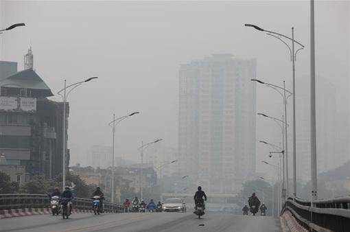 Chất lượng không khí Hà Nội chạm ngưỡng rất xấu