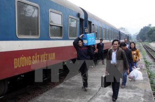 Ngành đường sắt công bố đường dây nóng dịp Tết
