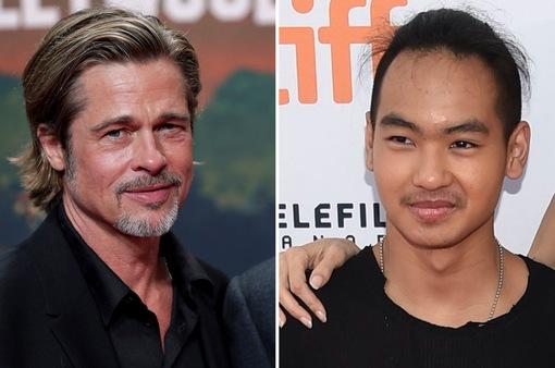 Brad Pitt không liên lạc với con trai cả