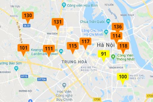 Chất lượng không khí ở Hà Nội được cải thiện