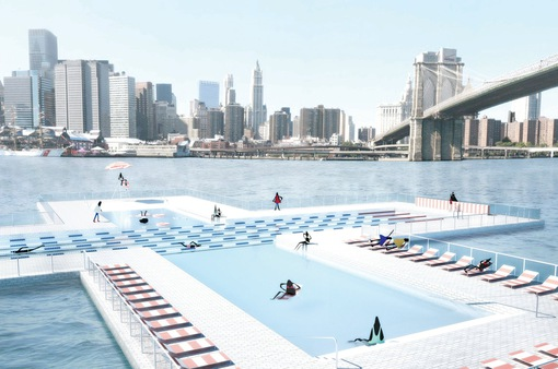 Bể bơi thông minh giúp lọc sạch nước sông
