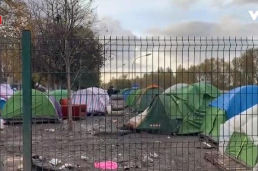 Pháp phá bỏ các trại tị nạn tự phát