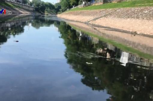 Gom nước thải để làm sạch sông Tô Lịch