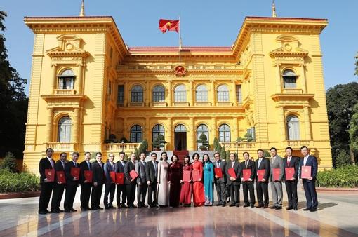 Bổ nhiệm các Đại sứ Việt Nam tại nước ngoài