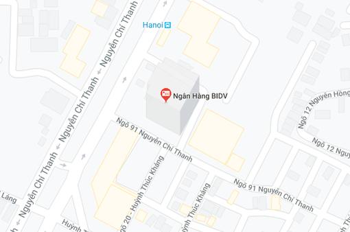 Hà Nội: Cháy tại ngân hàng BIDV Nguyễn Chí Thanh