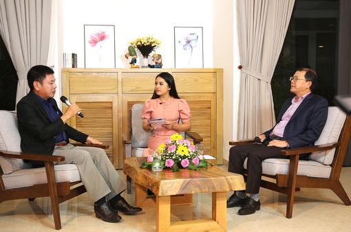 GLTT với đại diện Ban tổ chức Liên hoan Truyền hình toàn quốc lần thứ 39