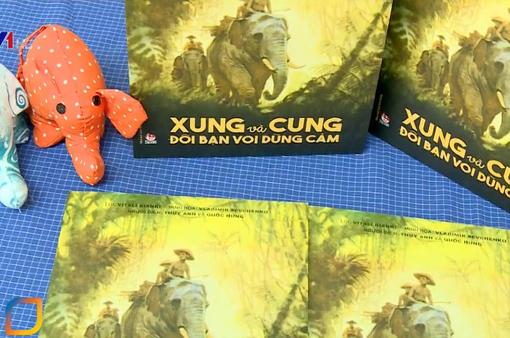 """Ra mắt bản dịch cuốn sách """"Xung và Cung - Đôi bạn voi dũng cảm"""""""
