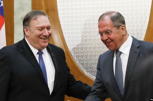 Ngoại trưởng Nga - Mỹ hội đàm tại Washington vào ngày 10/12