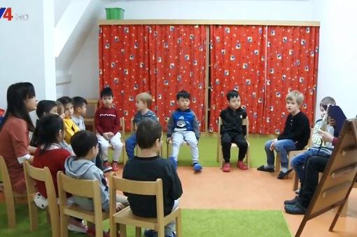Thành công từ mô hình nhà trẻ song ngữ Việt - Đức
