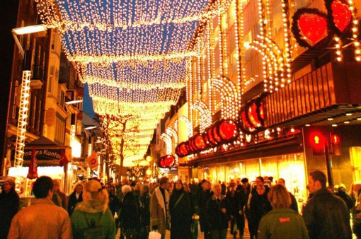 Ánh sáng lung linh, huyền ảo trong sự kiện thắp sáng thủ đô Đan Mạch
