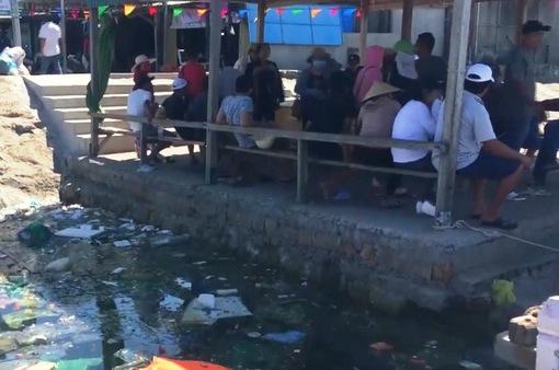 Đảo Bình Ba, Khánh Hòa ngập trong rác