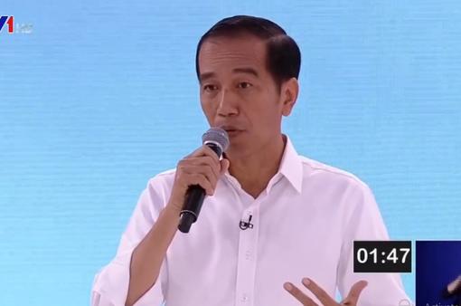 Nóng cuộc tranh luận lần 2 giữa các ứng viên Tổng thống Indonesia