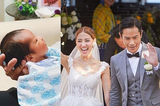 Sinh con trai, Hoa hậu Trần Khải Lâm viên mãn với hạnh phúc mới