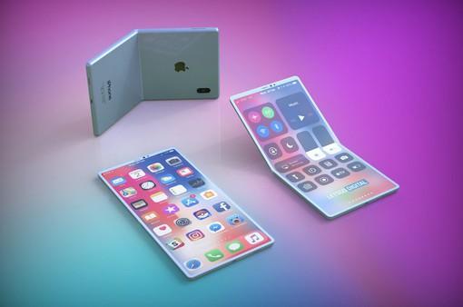 Cực chất chiếc iPhone màn hình gập