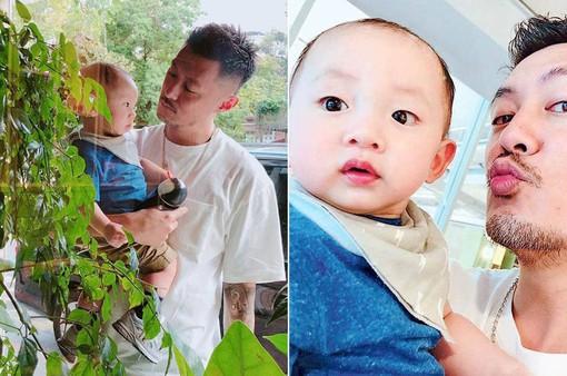 Lộ ảnh con trai của Dư Văn Lạc