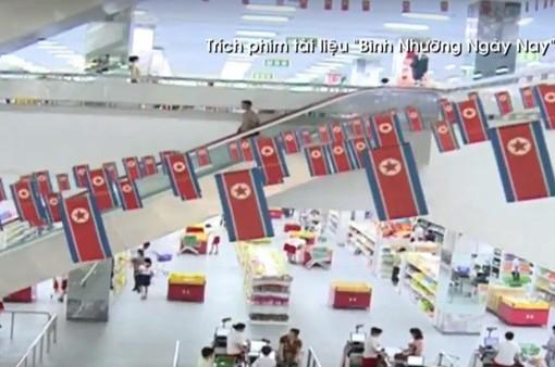 Cận cảnh siêu thị đầu tiên tại Triều Tiên