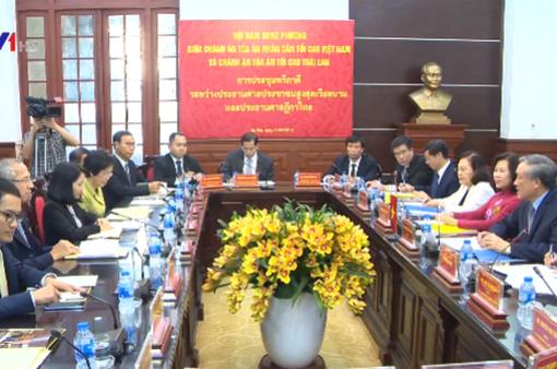 Hợp tác ngành tòa án Việt Nam - Thái Lan