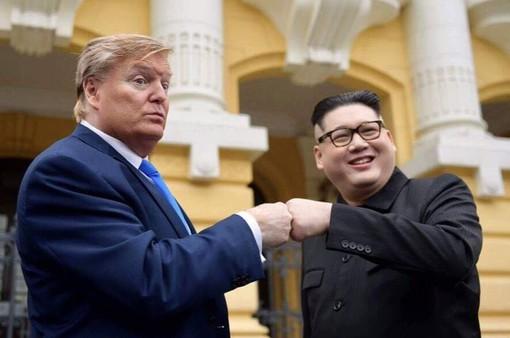 Bản sao Trump – Kim bất ngờ xuất hiện ở Hà Nội