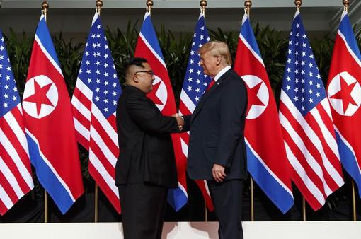Những khoảnh khắc đáng nhớ trong Hội nghị Thượng đỉnh Mỹ - Triều lần 1